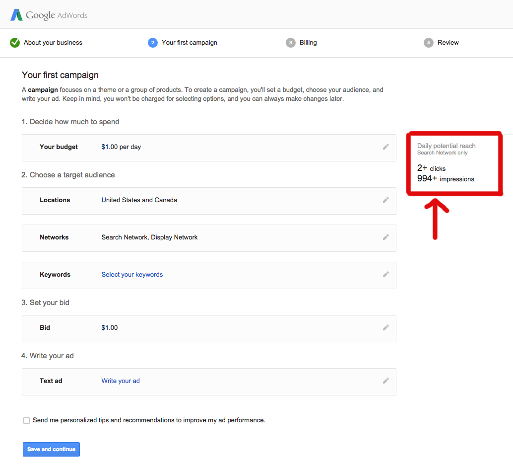 setting your budget in google ads campaign