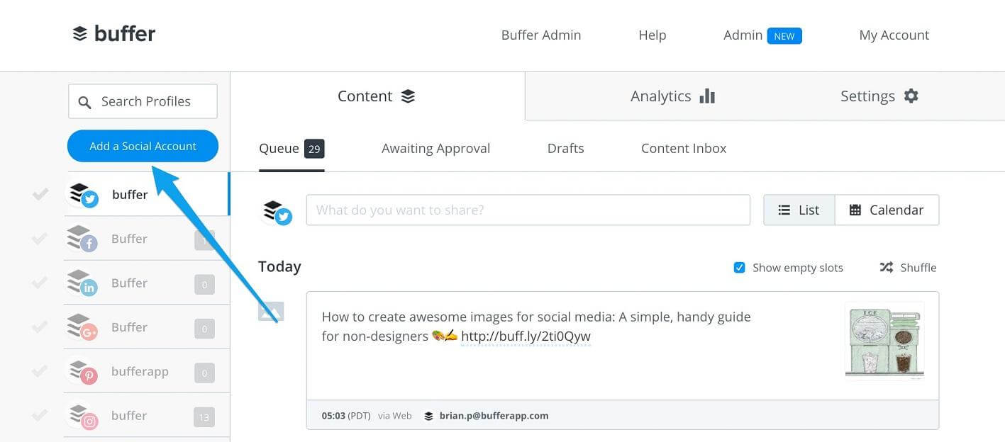 buffer-social media marketing