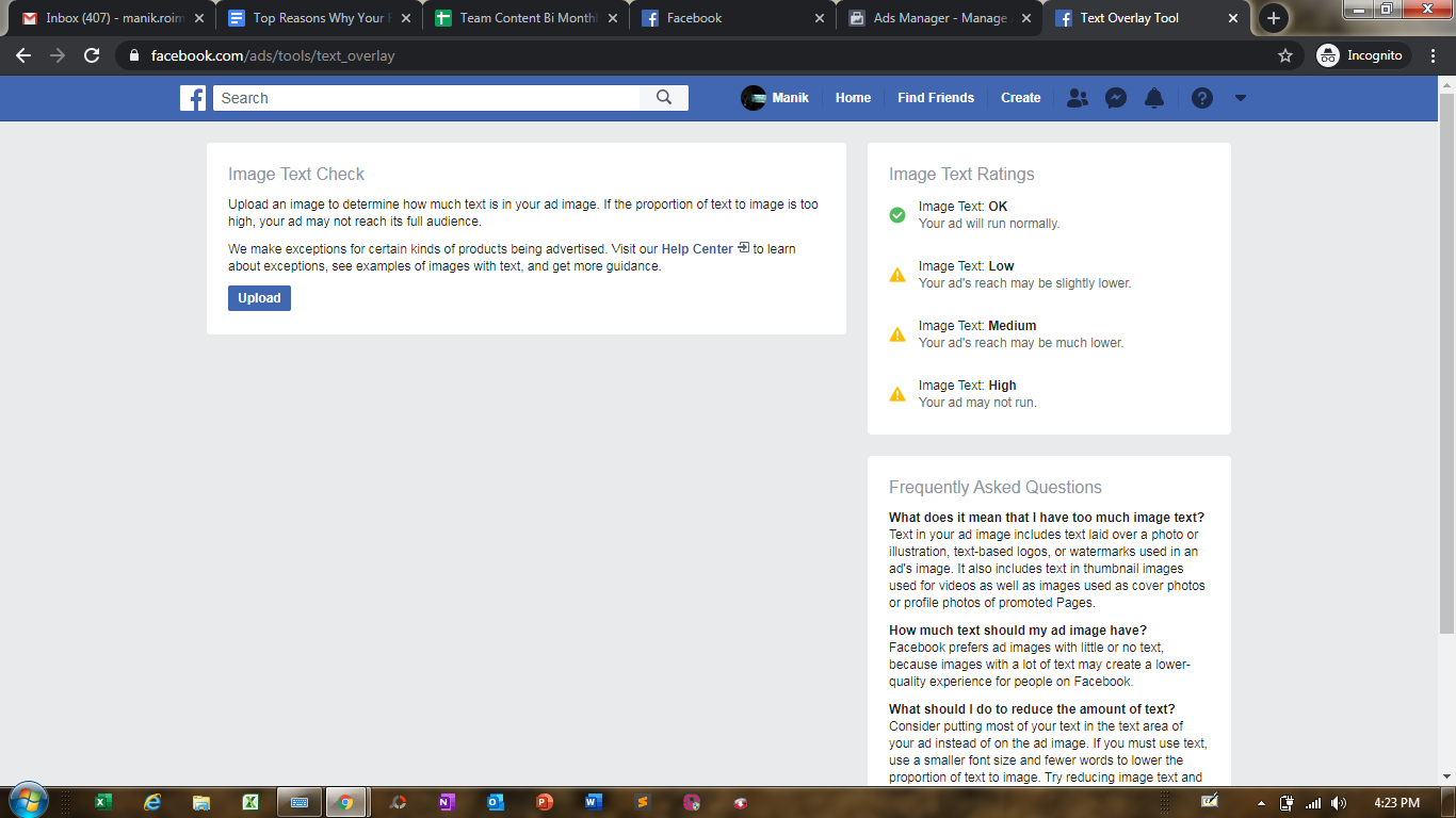 facebook image overlay tool