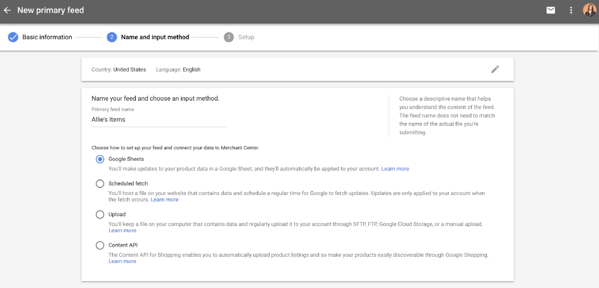 google ads pla