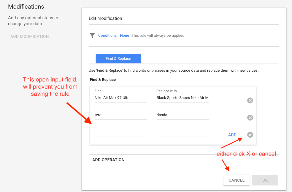 Use Google Merchant automatic rules to avoid unnecessary product disapproval