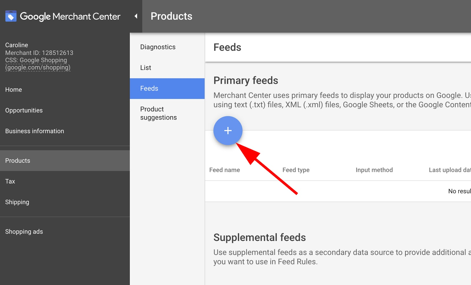 Utilize promotion feed from the Google merchant