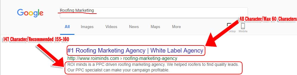 roofing marketing seo
