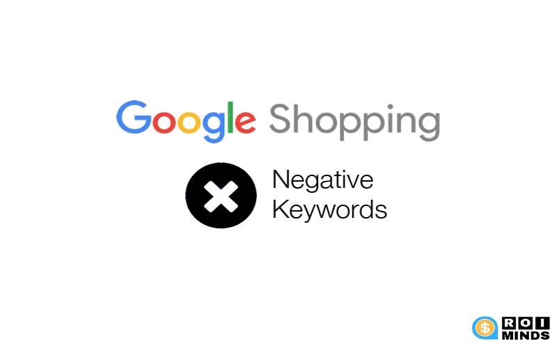 Negative keywords for ecommerce