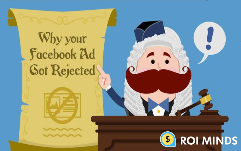 Why your FB ads are rejected