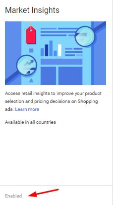 Google Market Insights