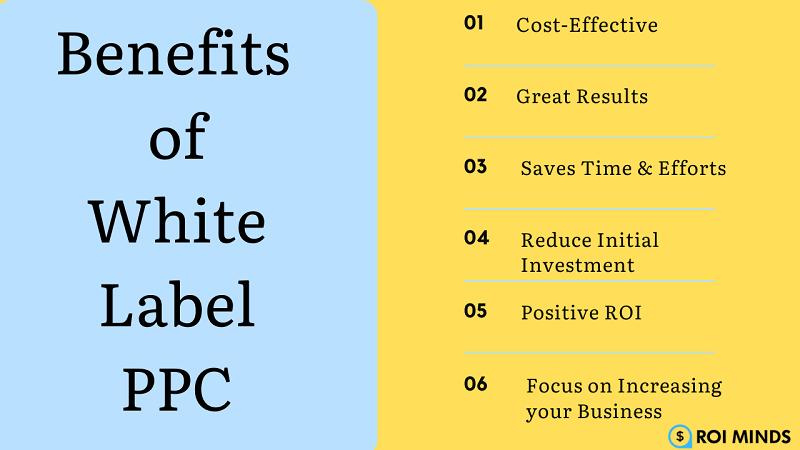 Benefits of White Label PPC