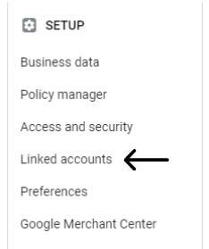 Step First how you can link google ads accounts with the search console